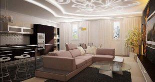 Современные варианты оформления потолка