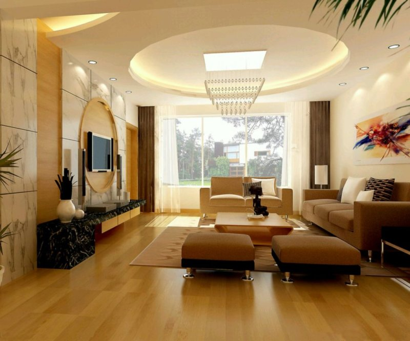 Современный выбор оформления потолка