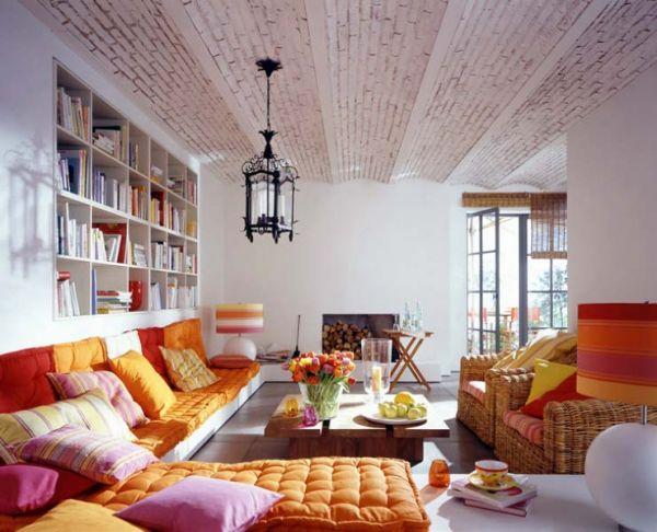 Французские потолки в лучших традициях дизайна