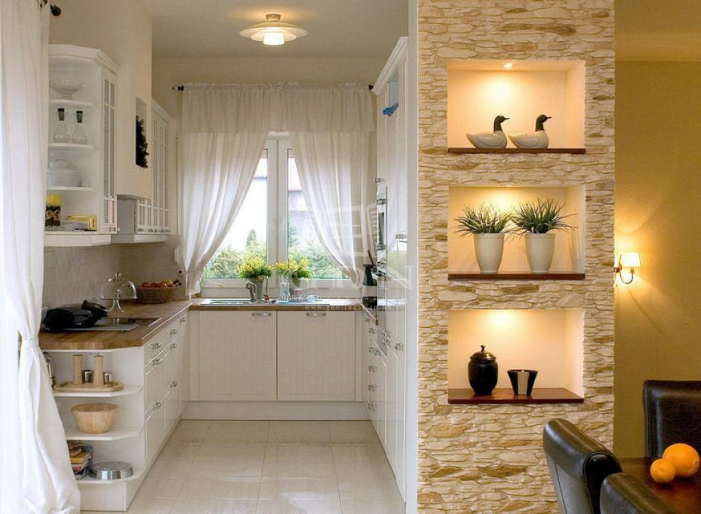 Каменный декор в дизайне квартиры