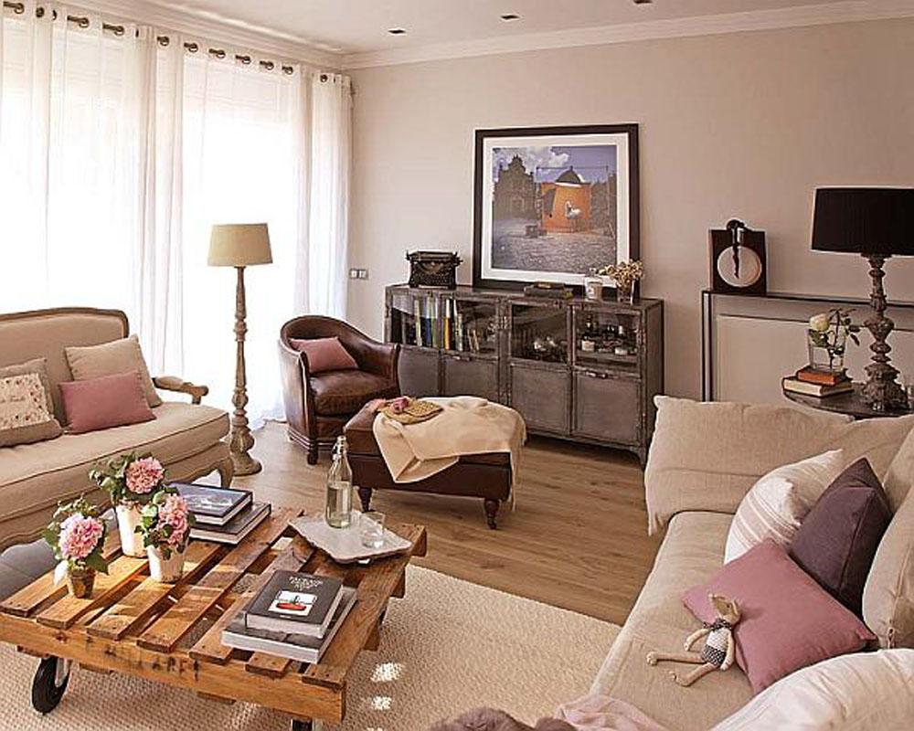 Квартира в стиле ретро
