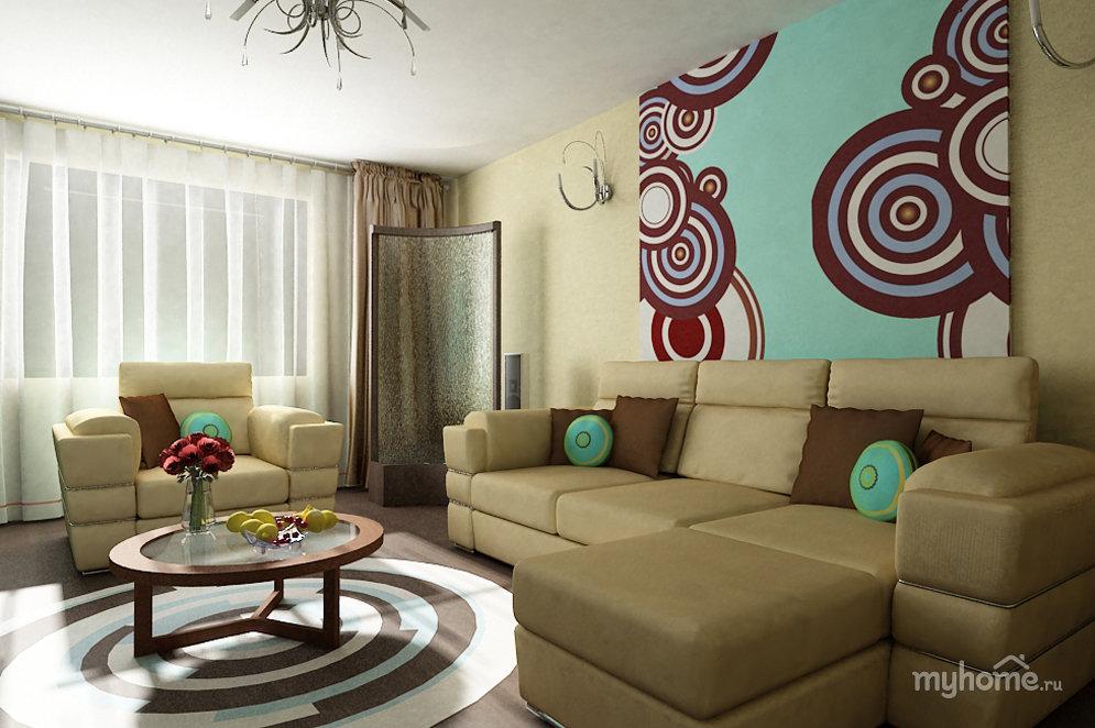 Стиль авангард для вашей гостиной