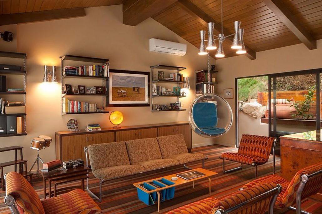 Дизайн квартиры в стиле ретро