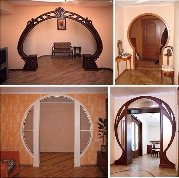 Изящная арка в интерьере