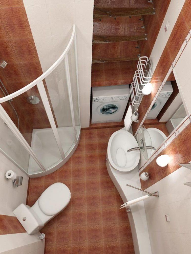 Правила оформления маленькой ванной