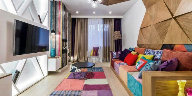 Ваша гостиная в стиле авангард