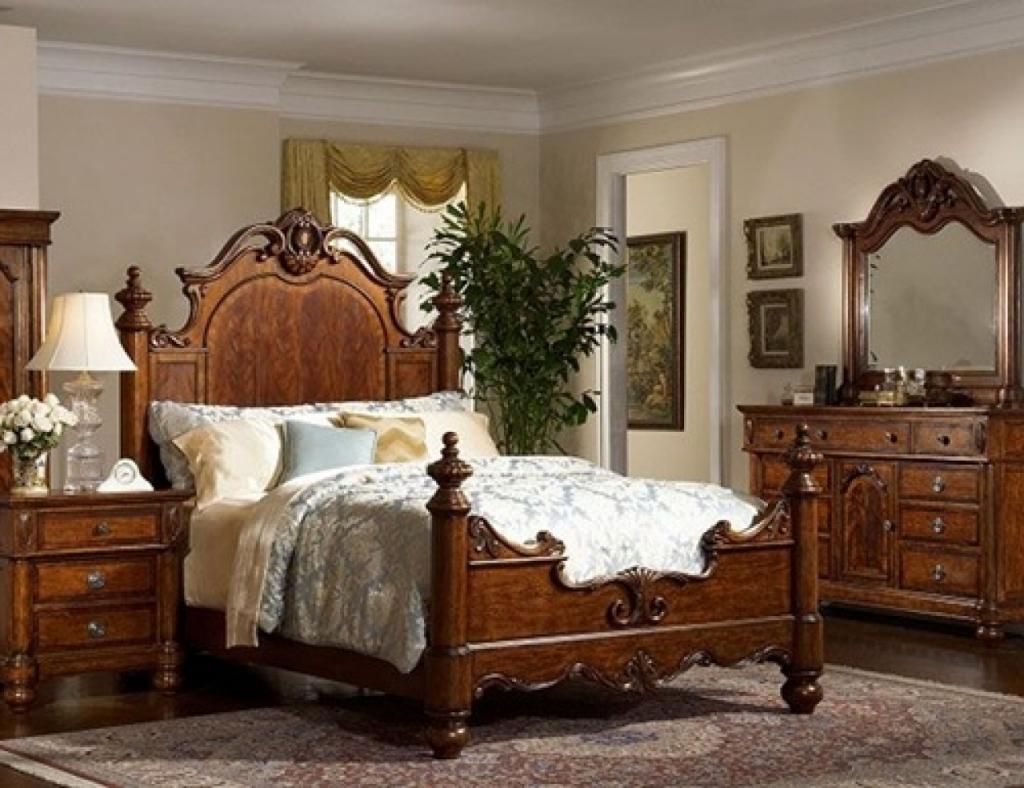 Викторианский стиль спальни