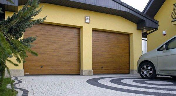 Современный формат гаражных ворот
