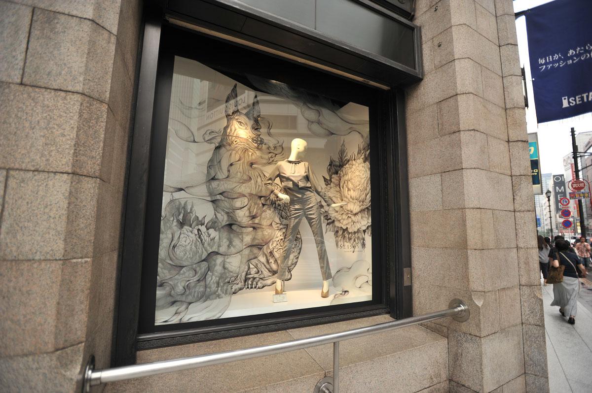 Оконные витрины открытого типа