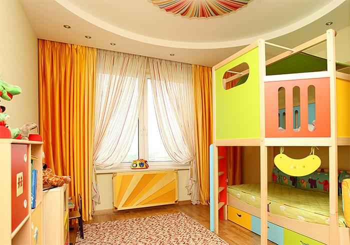 Шторы какого цвета выбрать для детской