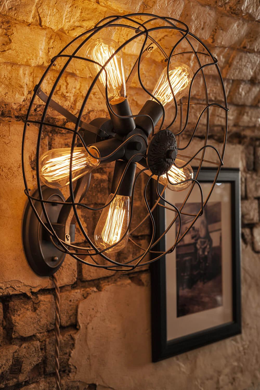 Первая группа светильников - лампы накаливания