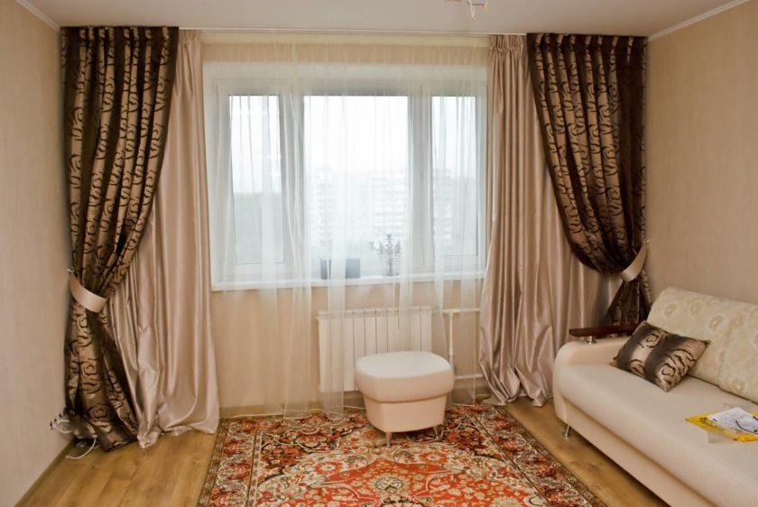 Стильные готовые шторы
