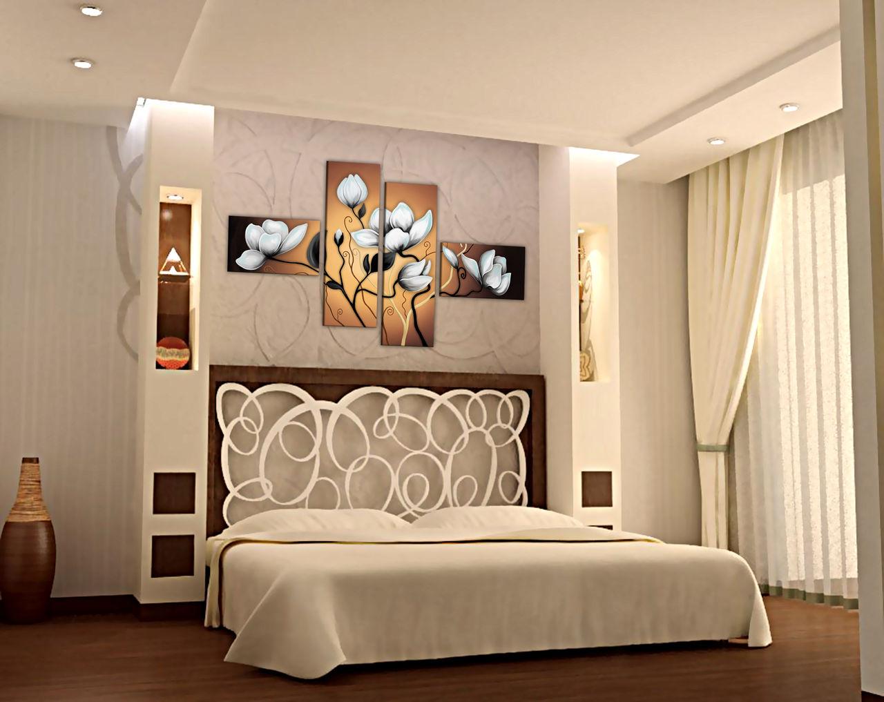 Дизайн спальни своими руками