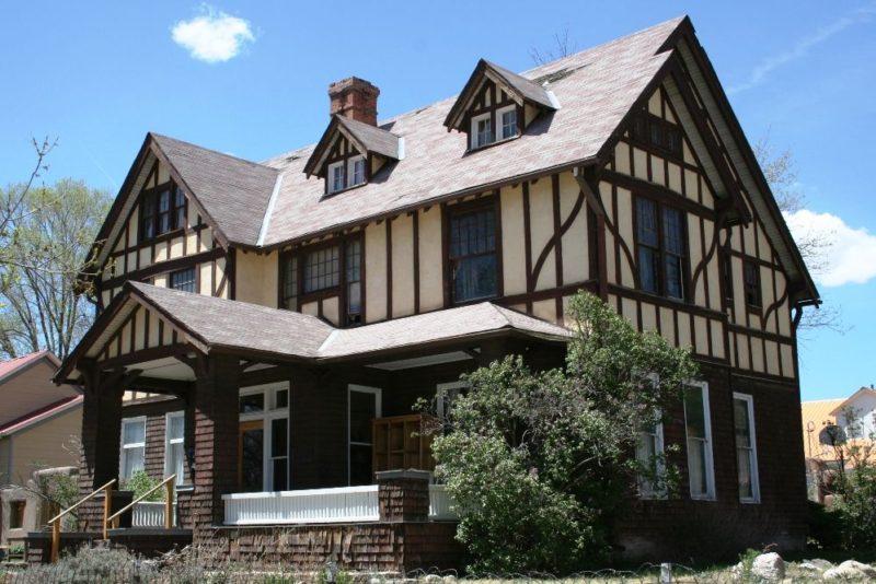 Внешний вид дома в немецком стиле