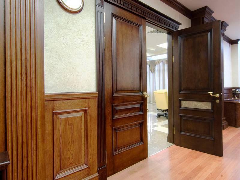 Филенчатые двери - материалы изготовления