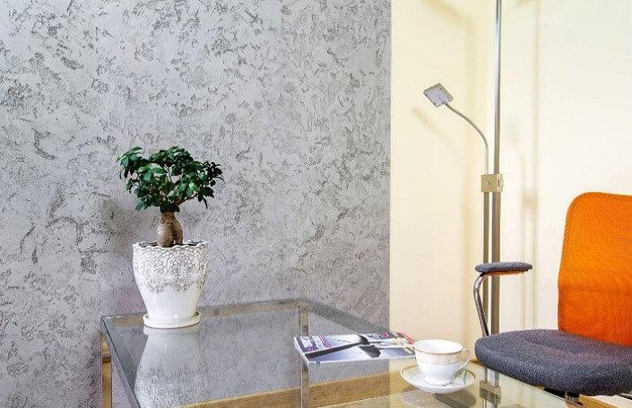 Виды декоративной штукатурки для квартиры