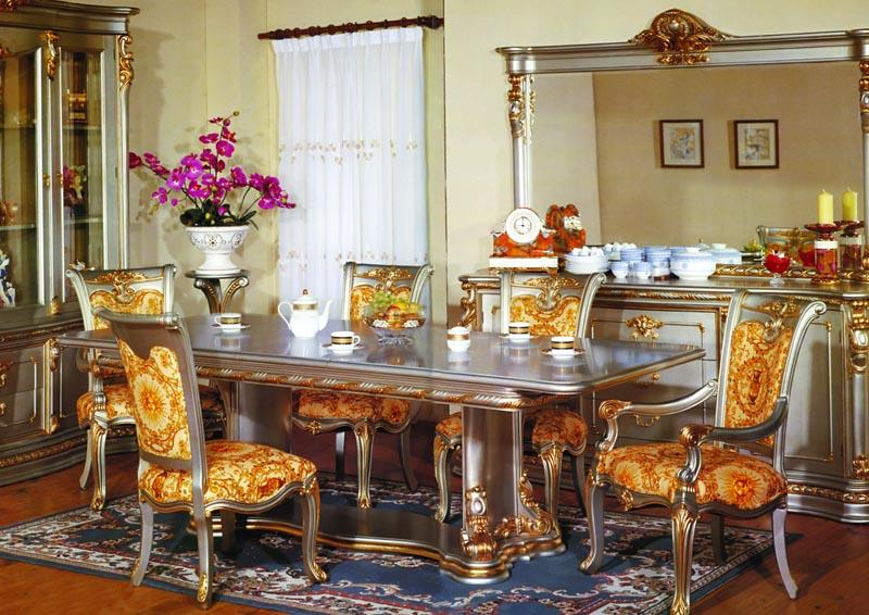 Ренессанс мебельный стиль в интерьере