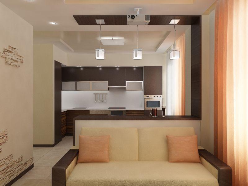 Вариант проекта дизайна квартиры