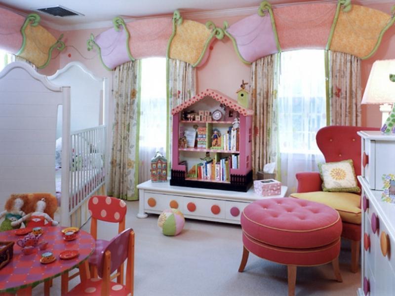 Некоторые советы по обустройству детской комнаты