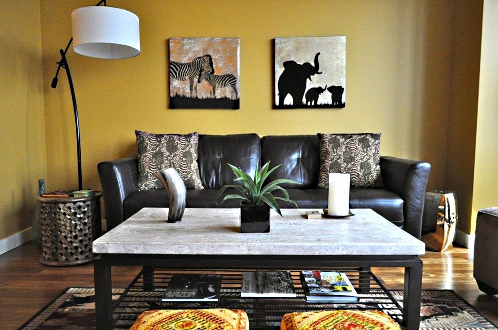 Африканский дизайн квартиры