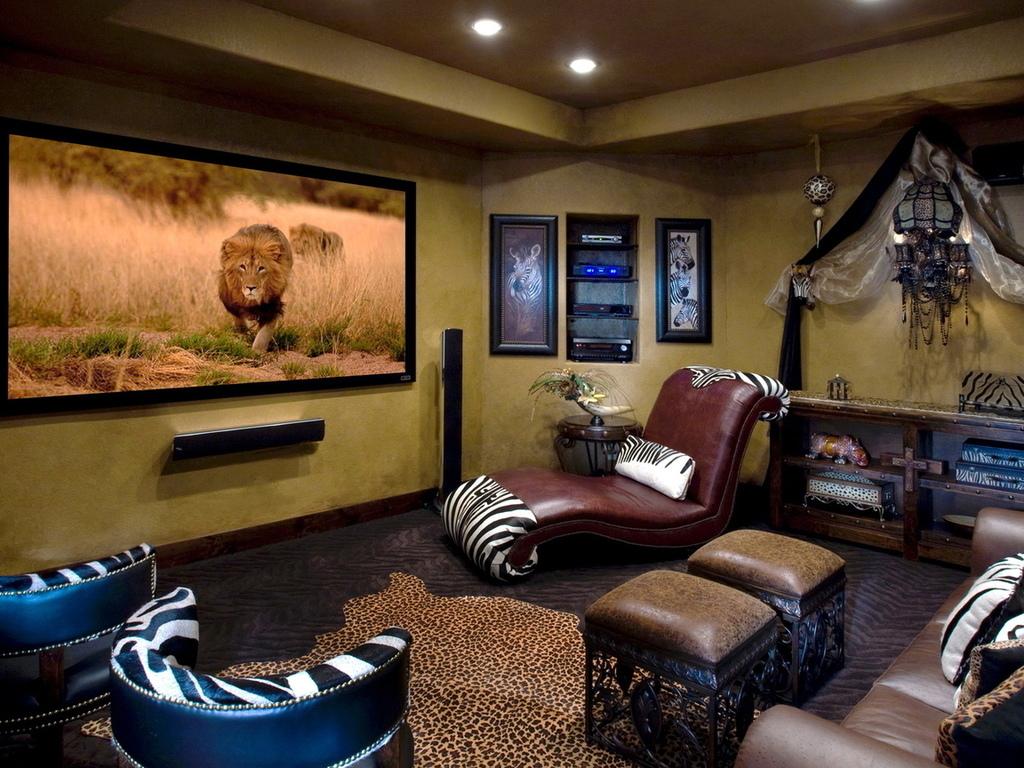 Африканский дизайн интерьера квартиры
