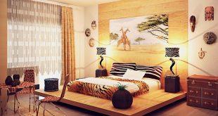 Этнический стиль в интерьере квартиры