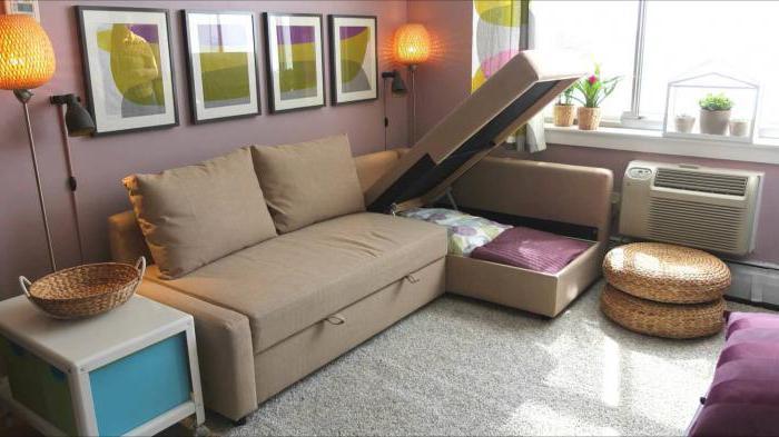Диван-кровать в интерьере квартиры