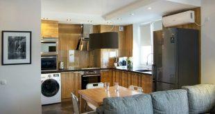 Какой выбрать стиль кухни в квартире-студии