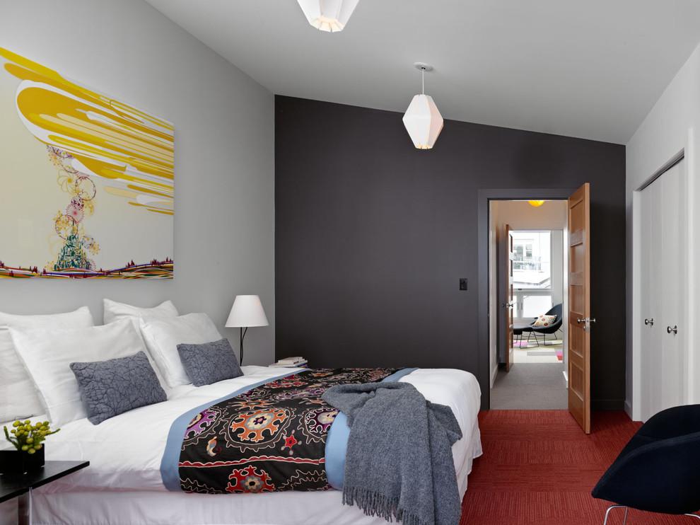 Выделение стен цветом для комнаты
