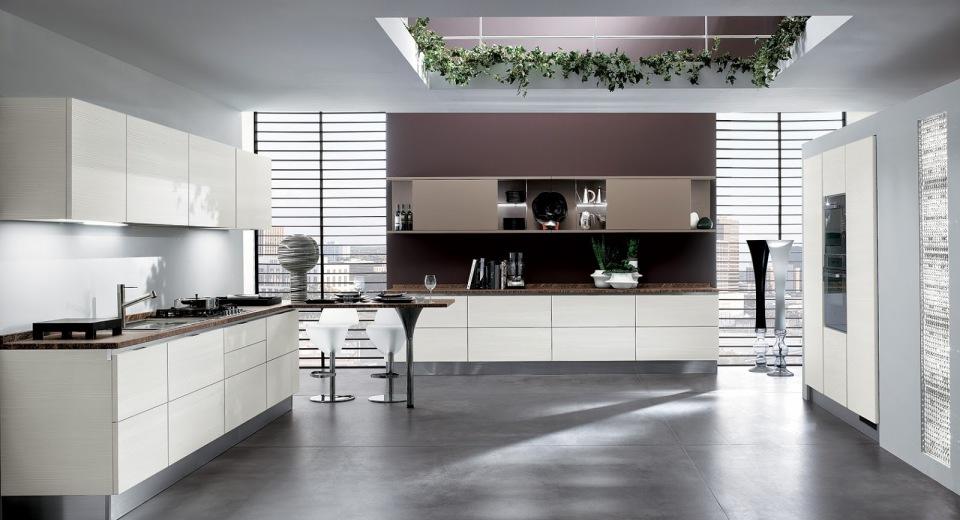 Кухонный дизайн в стиле хай-тэк