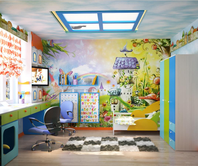 Принципы обустройства детской комнаты