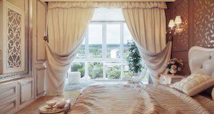 Длинные шторы – украшение комнаты