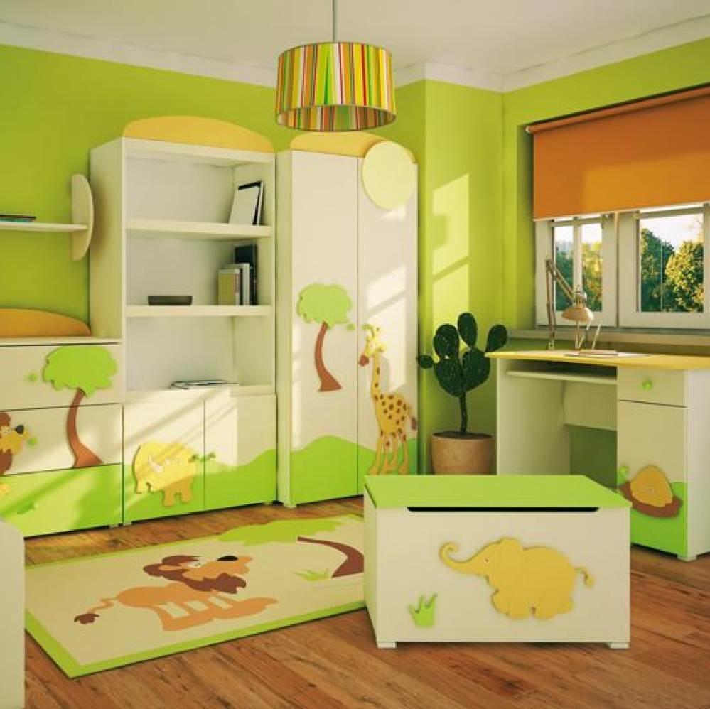 Выбор правильной мебели в детскую