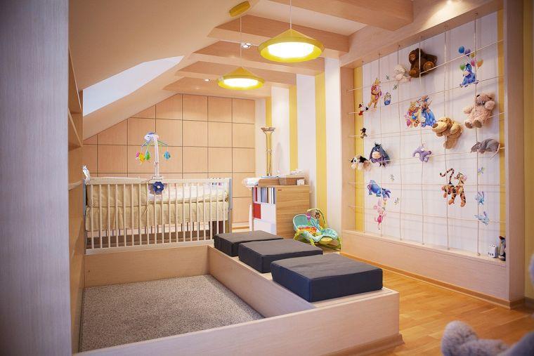 Декор обустройства детской комнаты