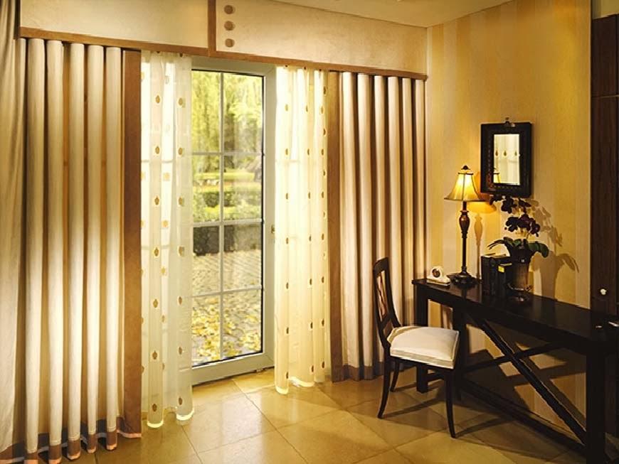 Шторы длиной до пола в дизайне квартиры