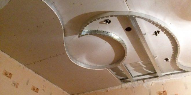 Современные работы по ремонту с гипсокартоном