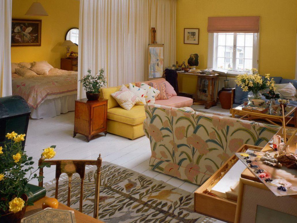 Делаем однокомнатную квартиру уютной