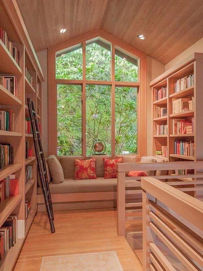 Как организовать уютное место для чтения