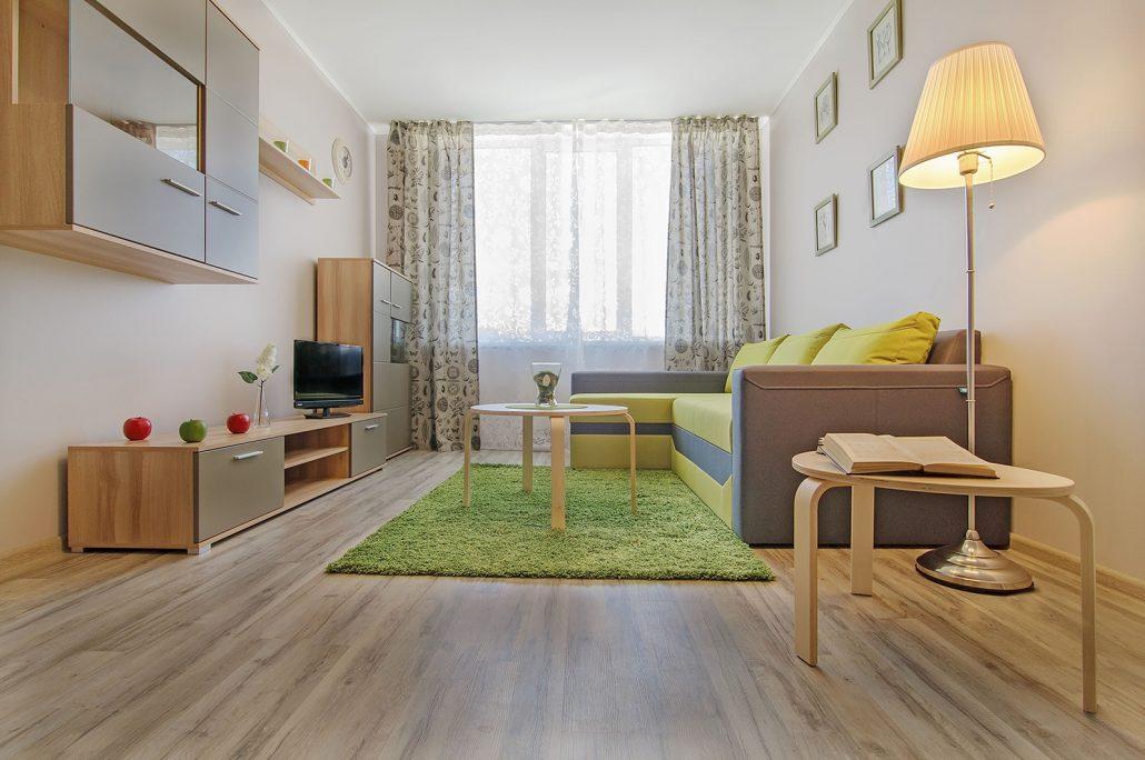 Как сделать уютной однокомнатную квартиру?