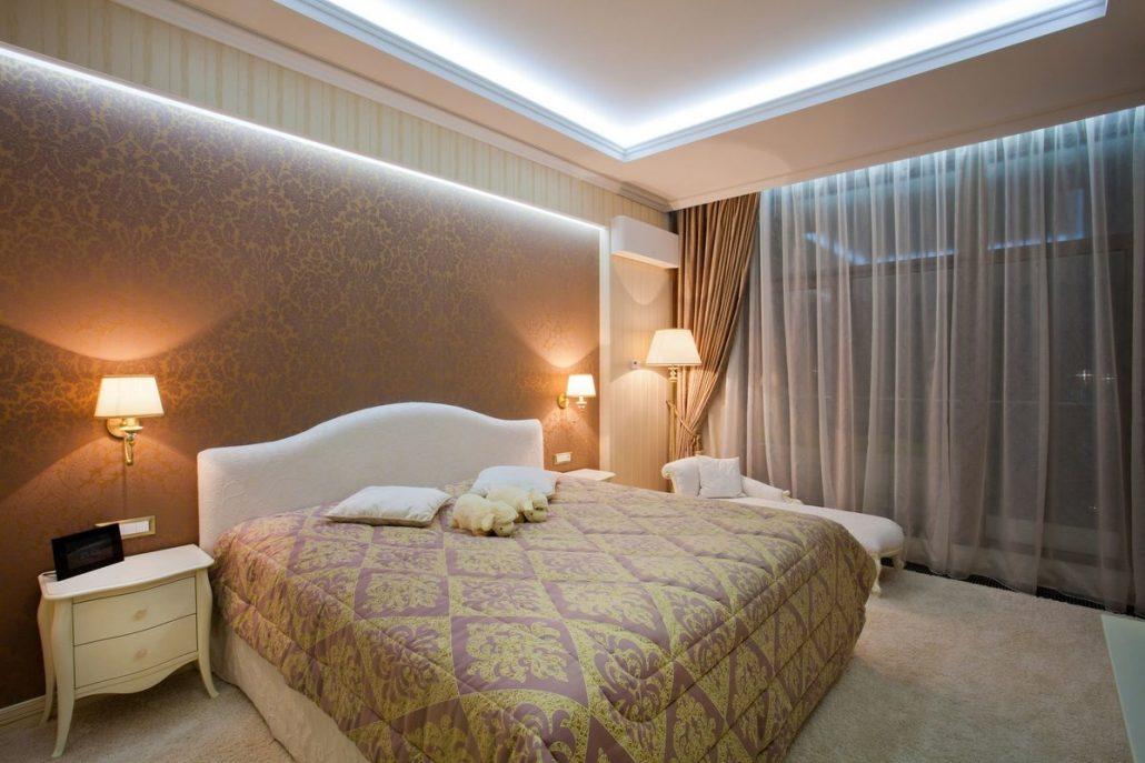 Выбираем светильники в спальню