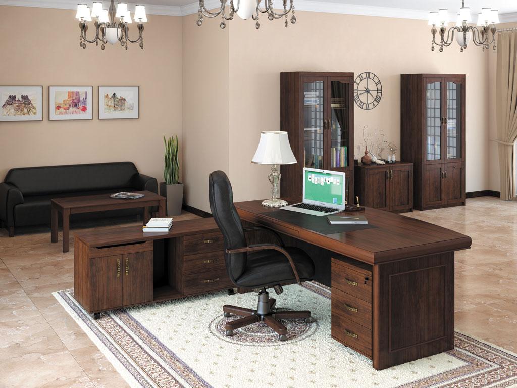 Мебель в кабинете руководителя