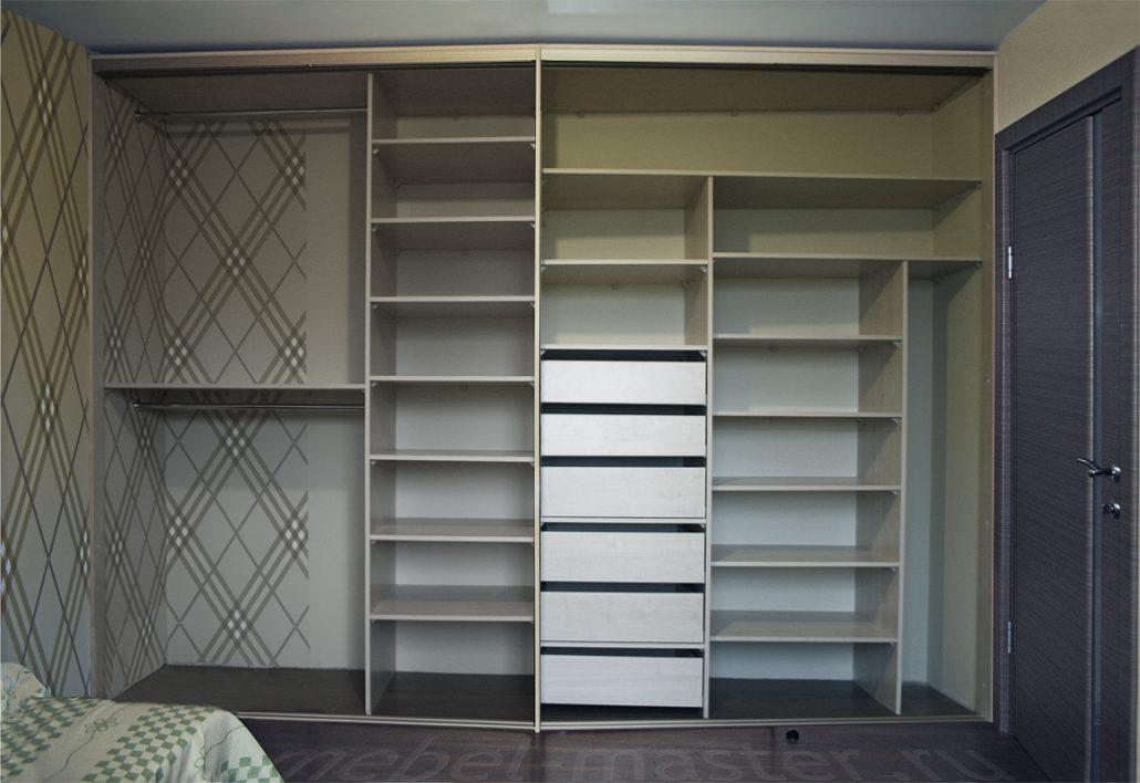 Сделать правильный выбор встроенного шкафа-купе