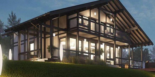 Фахверковые дома — популярный тренд в европейском  строительстве