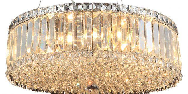 Освещение в доме. Люстра — популярный потолочный светильник