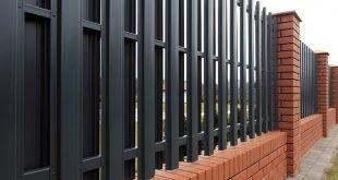 Забор-из-металлического-штакетника