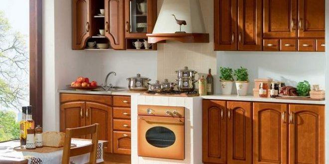 Выбираем фурнитуру для кухни из древесины
