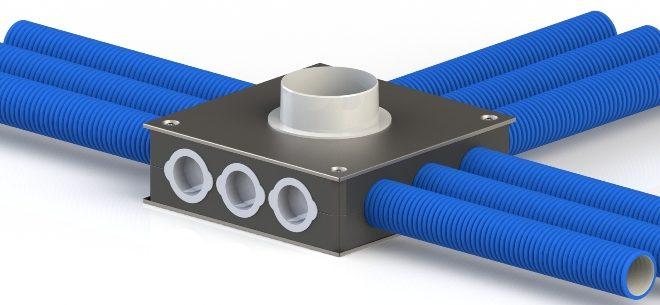 Система гибких воздуховодов