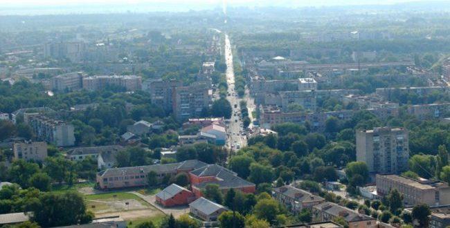 Новостройки города Ровно