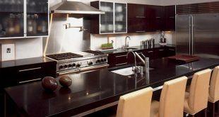 Dark Kitchen Cabinets 650x450